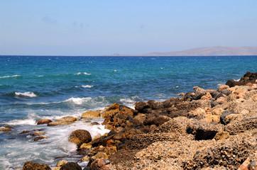 Rocky Coast in Greece