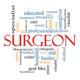 Surgeon Word Cloud Concept
