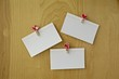Valentine concept. Sheet of paper on a wooden background.