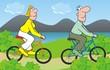 couple-bicycle