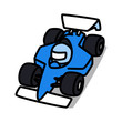Cartoon Car 04 : F1 Machine