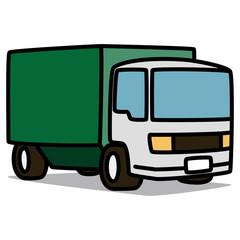 Cartoon Car 03 : Green Truck