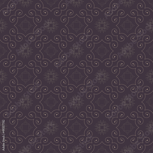 Seamless color retro pattern background