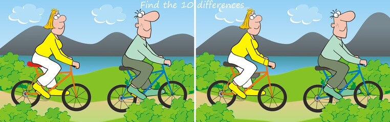 10 differences-bicycle