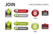 icons set for web design & applications