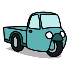 Cartoon Car 15 : Old Three-wheeler