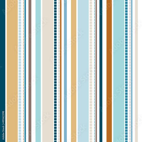 Seamless Stripe Pattern Retro - 49362398
