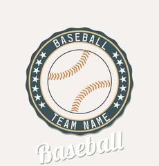 Baseball club emblem