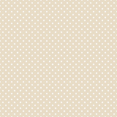 Seamless Pattern Dots Beige