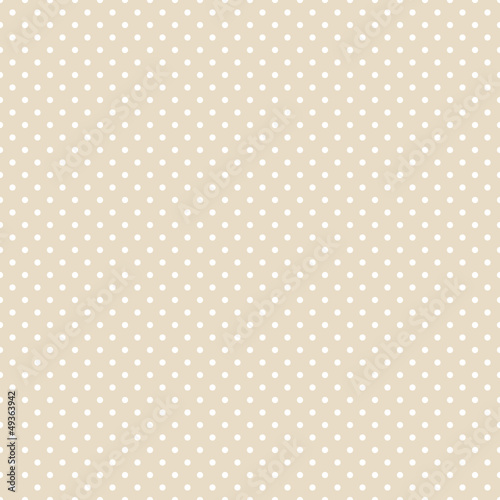 Seamless Pattern Dots Beige