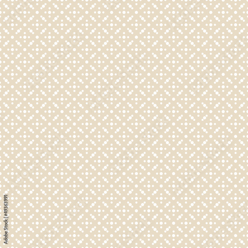 Seamless Pattern Dots Retro Beige