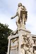 Mozart statue in Burggarten park, Vienna, Austria