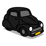 Cartoon Car 33 : Classic Car