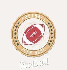 Football  team emblem