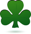 Green Shamrock icon.