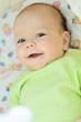 sweet smiling baby