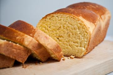 fette di pan brioche