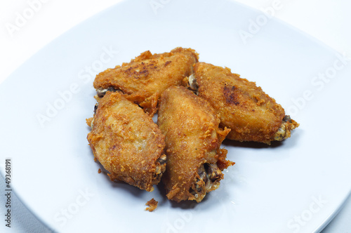 The fried chicken wing