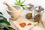 Officinal herbs - 49368758