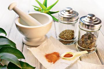 Officinal herbs