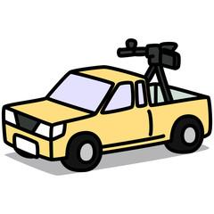 Cartoon Car 50 : Combat Vehicle