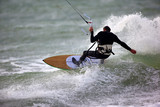 Fototapety kitesurfeur et kite surf