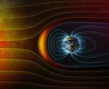 Fototapete Strahlung - Ray - 3D-Bilder