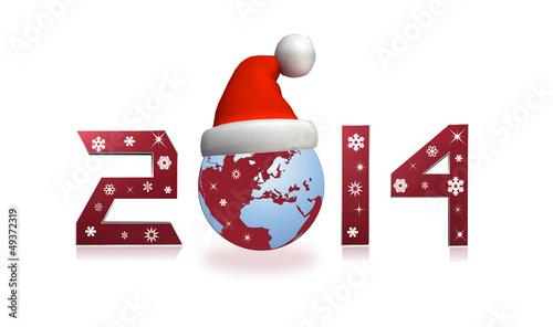 أجمل صور تهنئة بمناسبة العام الجديد 2014