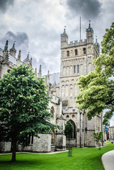 Exeter Cathedral, Devon UK
