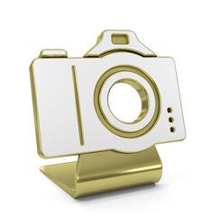 """Camera"" Golden Icon"