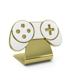 """""""Game Pad"""" Golden Icon"""