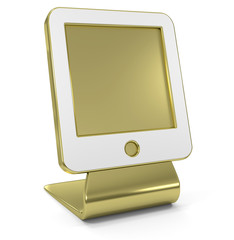 """Tablet"" Golden Icon"