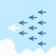 Arrow leadership concept