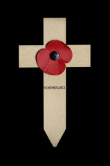 Poppy on Cross