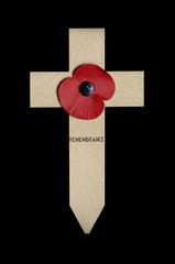 Poppy on Cross