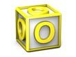 O Letter Cube