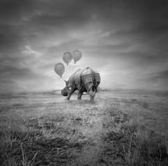 Fantasy rhino
