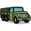 Cartoon Car 55 : Military Truck
