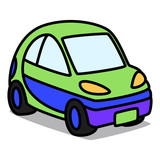 Cartoon Car 53 : Compact Car
