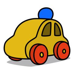 Cartoon Car 54 : Wooden Toy Car