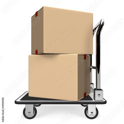 BoxsOnHandTruckSideView
