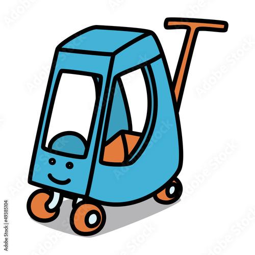 Cartoon Car 60 : Baby Cart