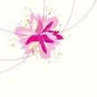 Floral background. Vector iilustration.