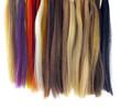 mèches de cheveux