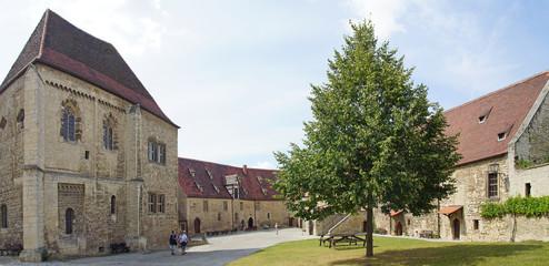 Freyburg, Neuenburg, burghof, museum