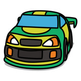 Cartoon Car 66 : Stock Car
