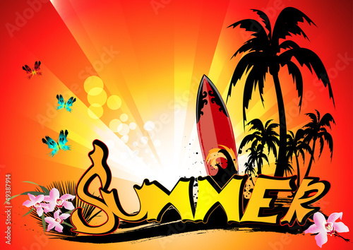 poster of Summer background