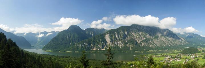 Bad Goisern, Salzkammergut, Hallstädter See, Dachstein