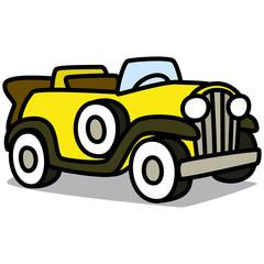 Cartoon Car 69 : Vintage Luxury Car