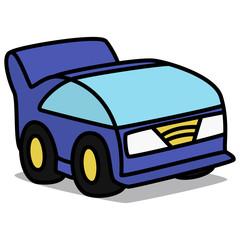 Cartoon Car 77 : Future Compact Car